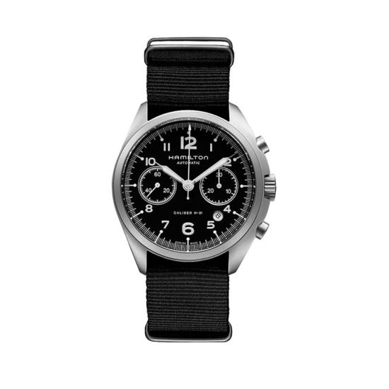 Reloj de hombre Hamilton Pilot Pioneer Chonograph - H76456435