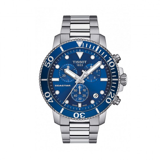 Reloj de hombre Tissot Seastar 1000 Chronograph - T120.417.11.041.00