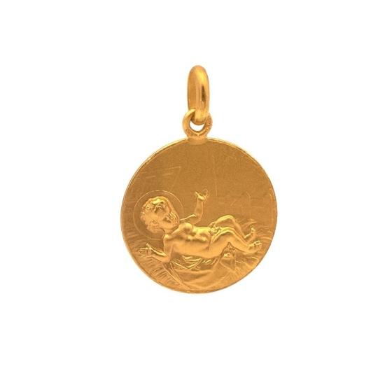 Medalla Oro Niño en las pajas