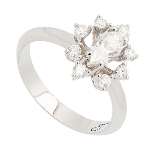 Sortija de diamantes - 1192 - 1
