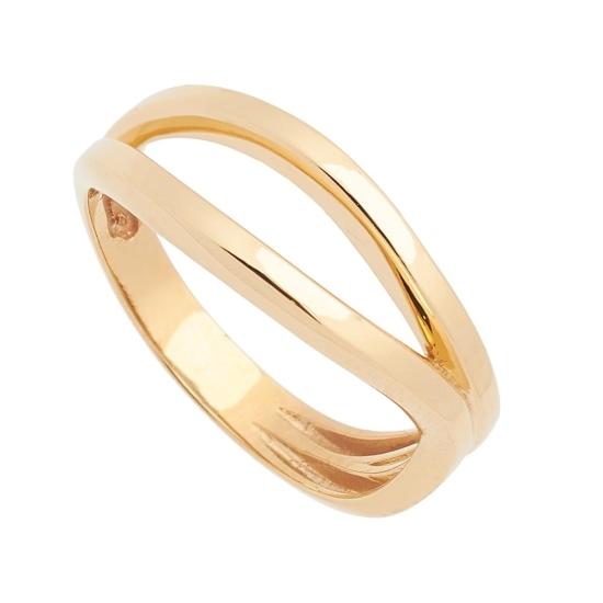 Sortija de oro de forma asimétrica - 1233 - 1